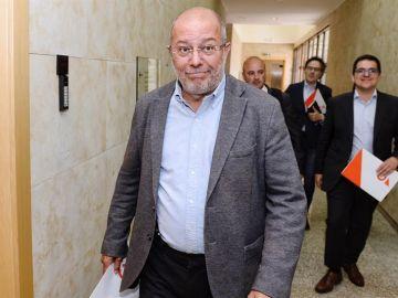 El candidato de Ciudadanos a la presidencia de la Junta, Francisco Igea
