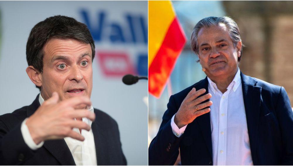 Marcos de Quinto y Manuel Valls