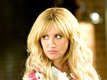 Ashley Tisdale, en 'High School Musical' como Sharpay Evans