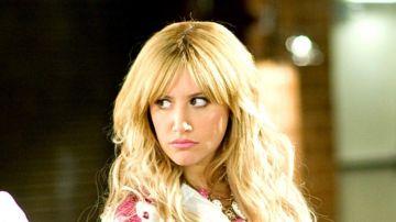 Ashley Tisdale, en 'High School Musical' como Sharpay Evans