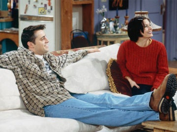 Monica y Joey en 'Friends'