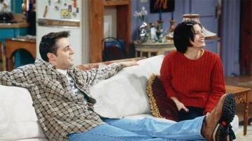 Monica y Joey en 'Friends'