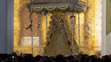 Imagen de la Virgen del Rocio