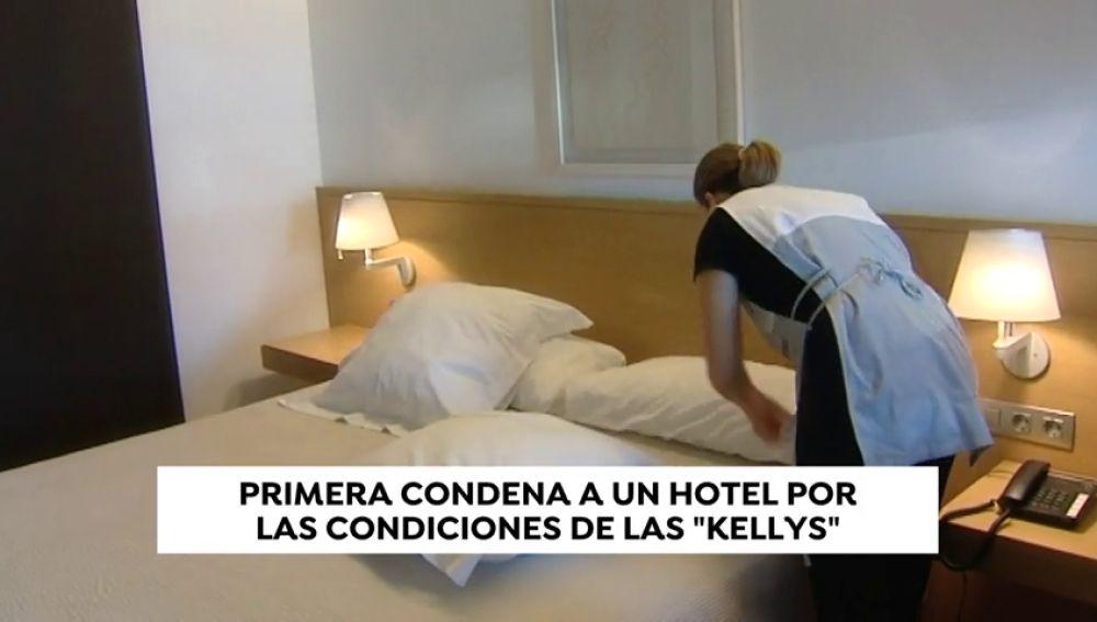 Un hotel condenado por explotar a las 'kellys'