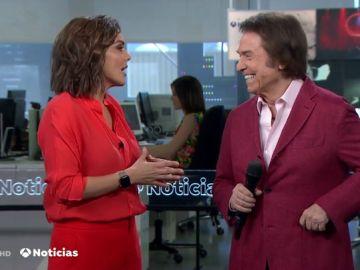 Raphael y Mónica Carrillo