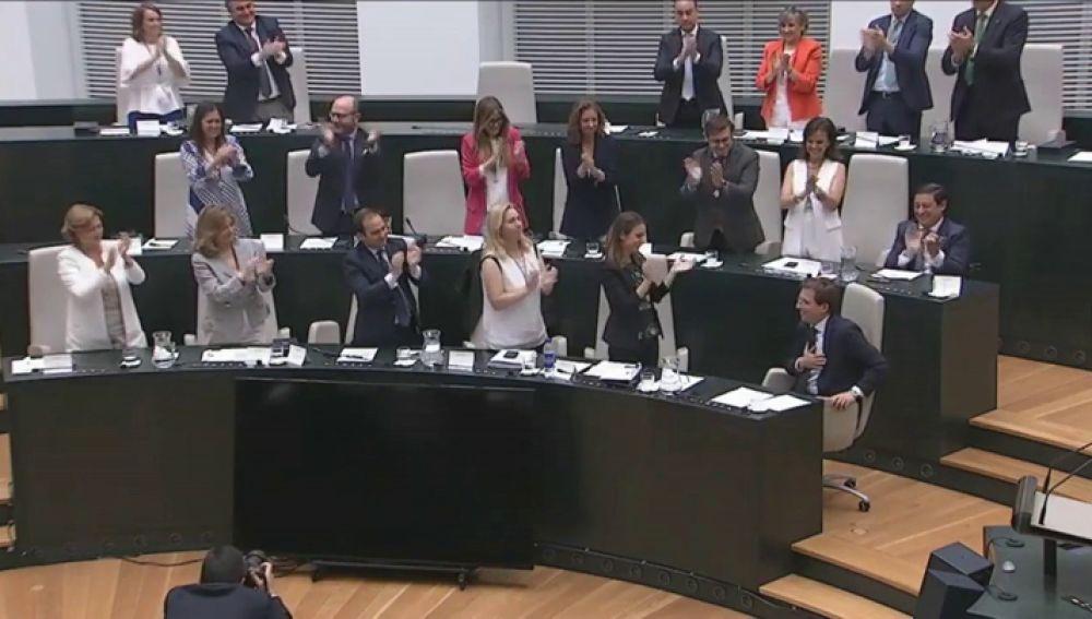 Almeida, alcalde de Madrid gracias al acuerdo con Ciudadanos y los votos de Vox