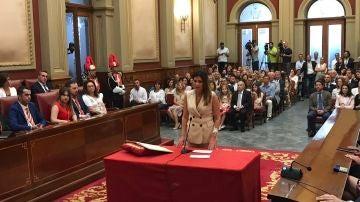 Candidata a la alcaldía de Santa Cruz de Tenerife por Ciudadanos, Matilde Zambudio