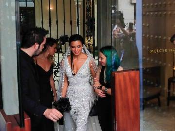 El vestido novia de Pilar Rubio