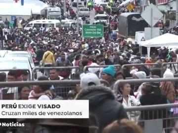 Perú limita la entrada de venezolanos