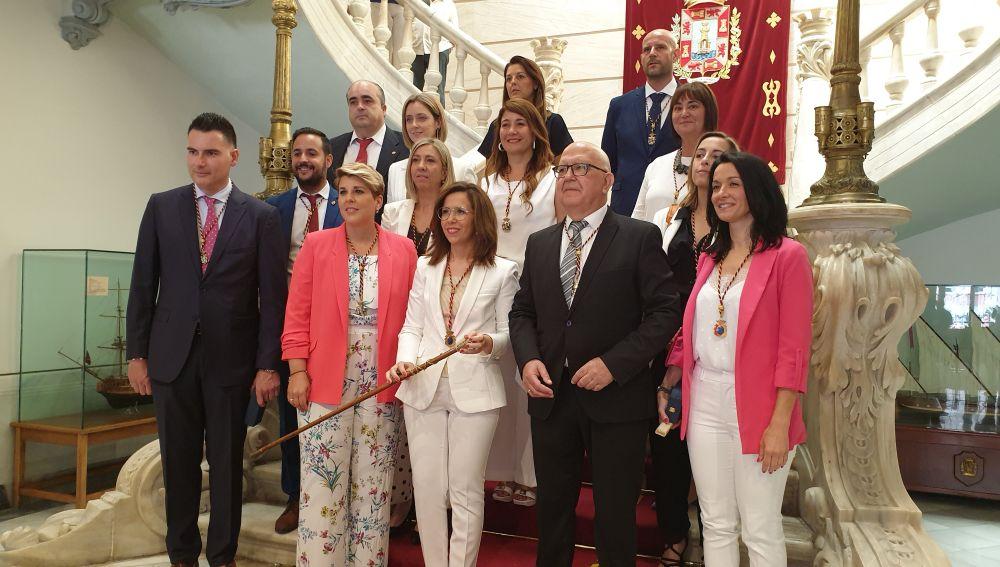 pleno investidura Castejon alcaldesa 2019 Cartagena