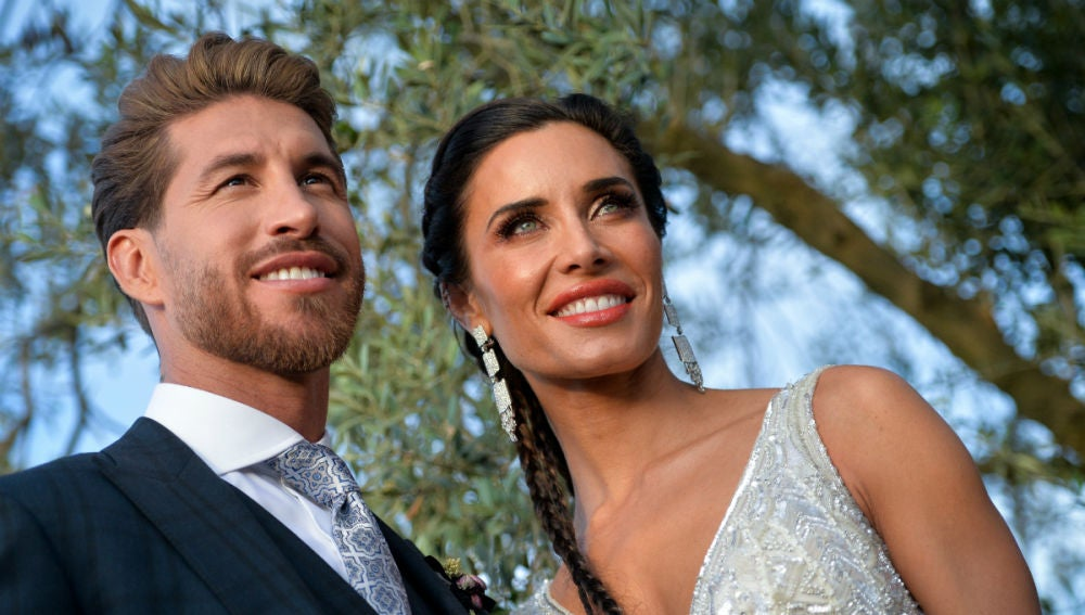 Sergio Ramos y Pilar Rubio, marido y mujer