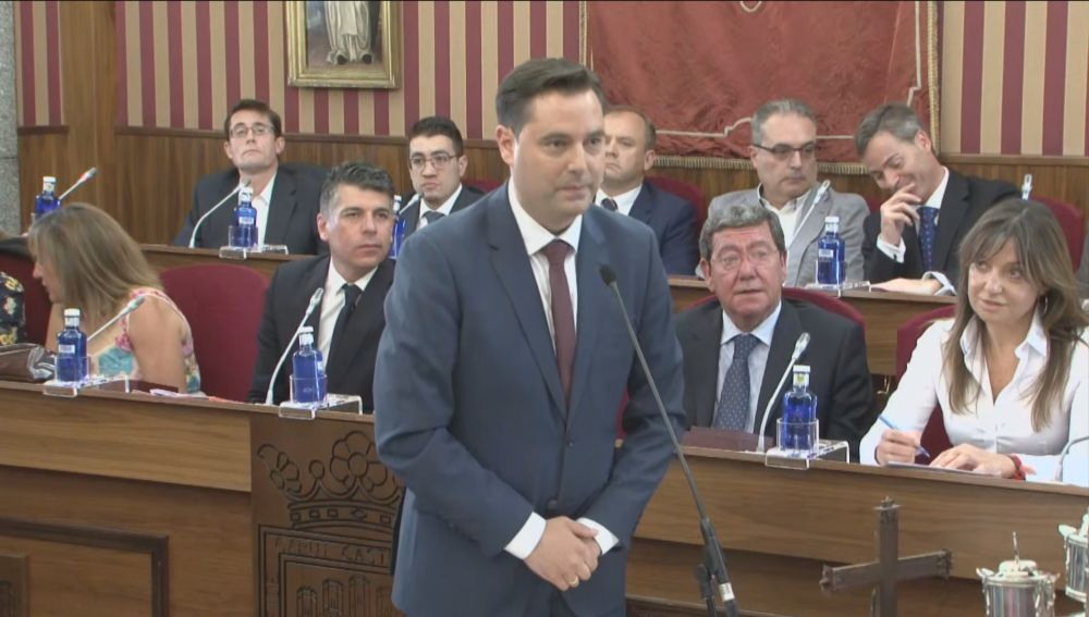 Daniel de la Rosa, alcalde del PSOE (Burgos)