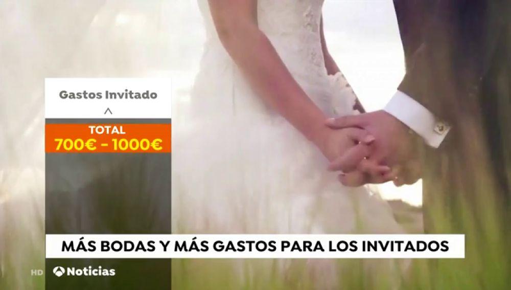 Los españoles gastamos en el regalo de boda para los novios el doble que franceses y alemanes