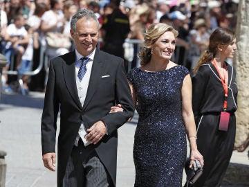 Joaquín Caparrós, en la boda de Sergio Ramos y de Pilar Rubio