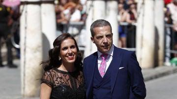 Cristóbal Soria, en la boda de Sergio Ramos y de Pilar Rubio