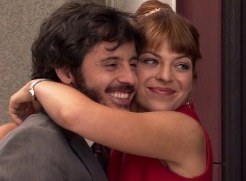 Nuria y Jaime, felices y prometidos