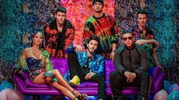Portada del nuevo sencillo de los Jonas Brothers con Sebastian Yatra