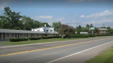 Imagen del motel donde vivía la familia