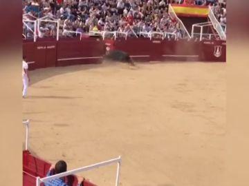 La cogida mortal a un torilero en la plaza de toros de Benavente desde otro punto de vista