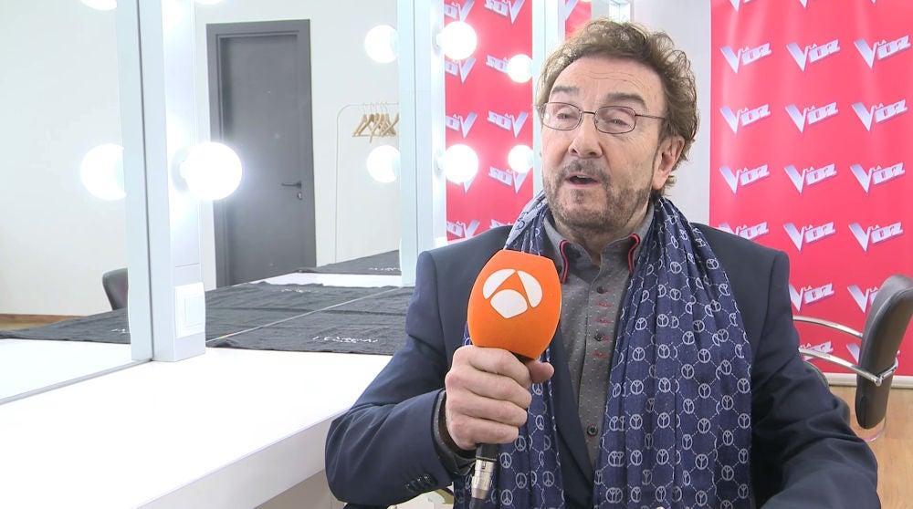 """Ignacio Encinas: """"No me esperaba todo lo que hay detrás de la palabra 'La Voz Senior'"""""""