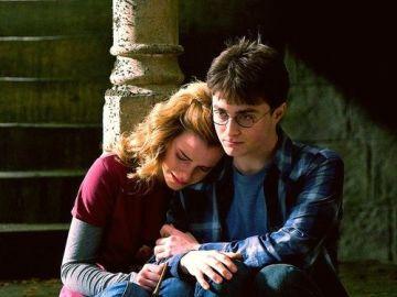 Hermione y Harry en la saga 'Harry Potter'