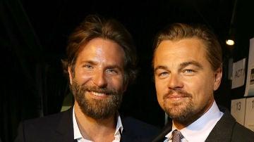 Bradley Cooper y Leonardo DiCaprio