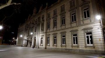 La fachada del Tribunal Supremo