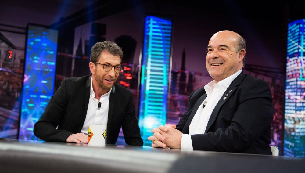 Antonio Resines revela en 'El Hormiguero 3.0' la grandiosa anécdota de Loles León con Almodóvar