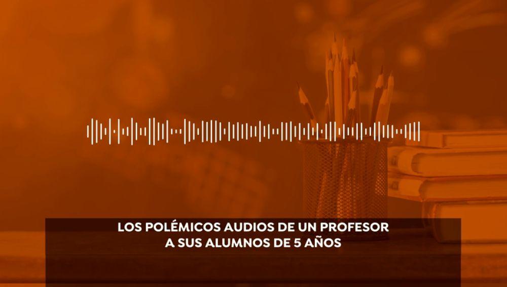 Los audios de un profesor de Huelva a sus alumnos en educación de infantil