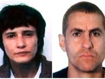 Antón García (d) y Asunción Losada (i), en la clandestinidad desde 2006 y que han sido detenidos por la Guardia Civil este fin de semana en Vigo.