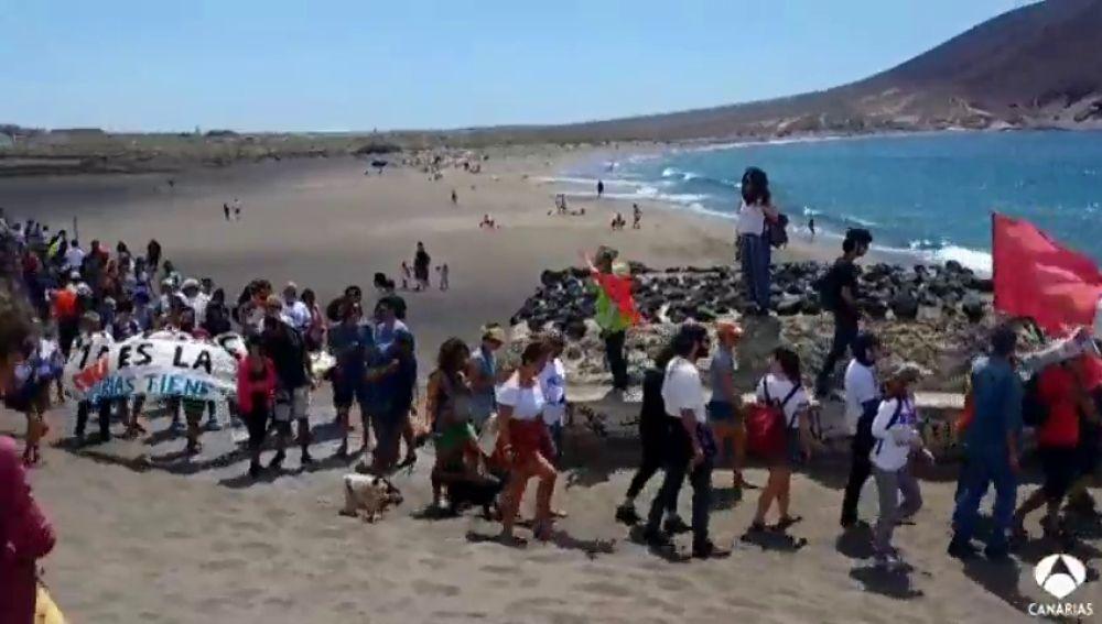 Costas ordena parar las obras del hotel La Tejita