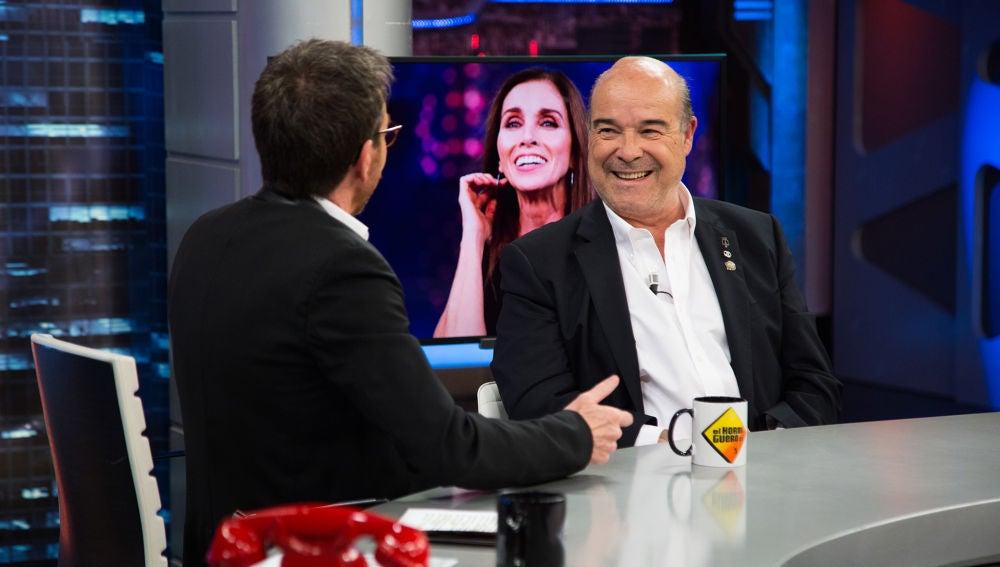 Antonio Resines confiesa en 'El Hormiguero 3.0' las consecuencias su secuencia más íntima con Ana Belén