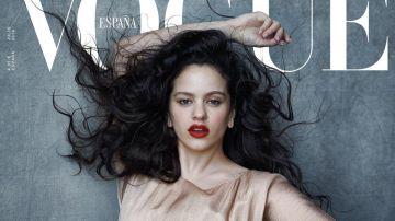Rosalía en la portada de Vogue