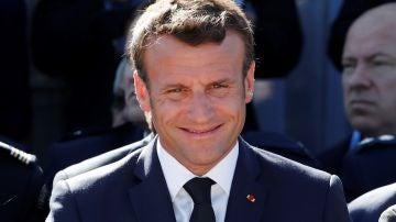El presidente galo, Emmanuel Macron