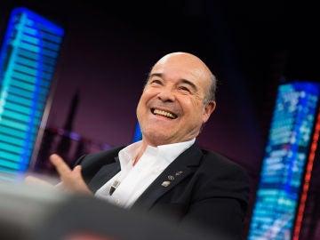 Antonio Resines denuncia en 'El Hormiguero 3.0' la campaña en contra de 'La reina de España'