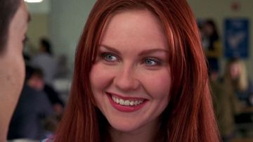 Kirsten Dunst como Mary Jane en la saga SpiderMan