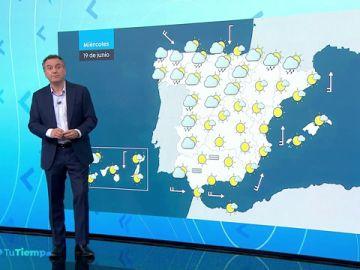 Tiempo estable y sol en todo el país, excepto en el norte