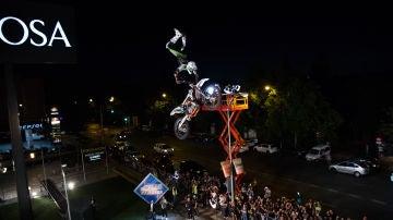 La espectacular exhibición de riesgo extremo de los motoristas de 'Nitro Circus' en 'El Hormiguero 3.0'