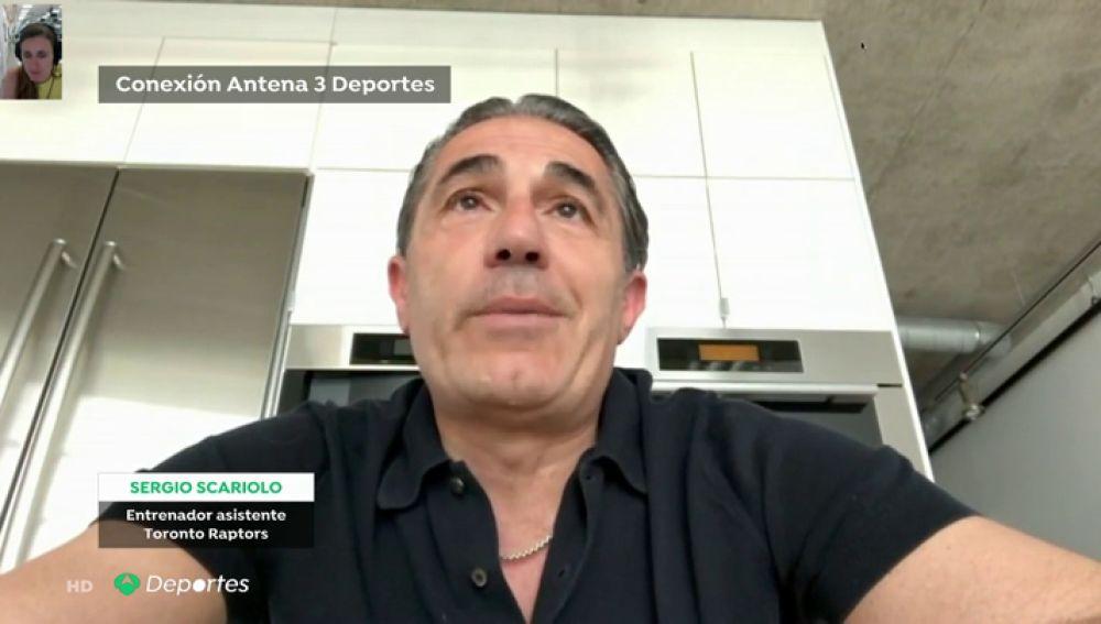 """Antena 3 habla con Scariolo sobre la estampida en Toronto: """"Creíamos que habían abierto una valla y habían dejado a la gente acercarse más"""""""