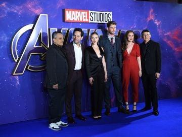 Parte del elenco de 'Vengadores: Endgame'