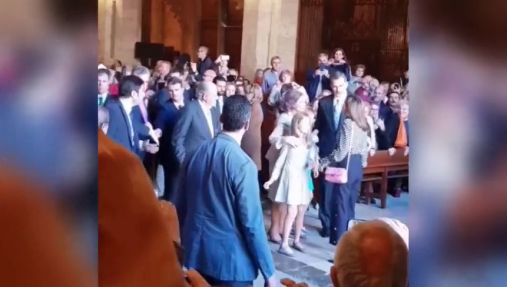 Así fue la escena de tensión entre la reina Letizia y la reina Sofía por una foto