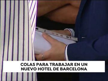 Un hotel de Barcelona busca 100 trabajadores