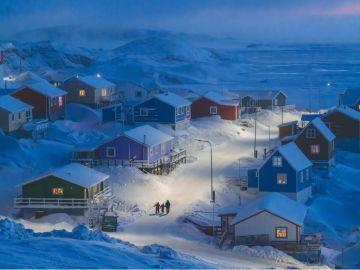 PRIMER PREMIO: 'Greenlandic winter' (Invierno en Groelandia)