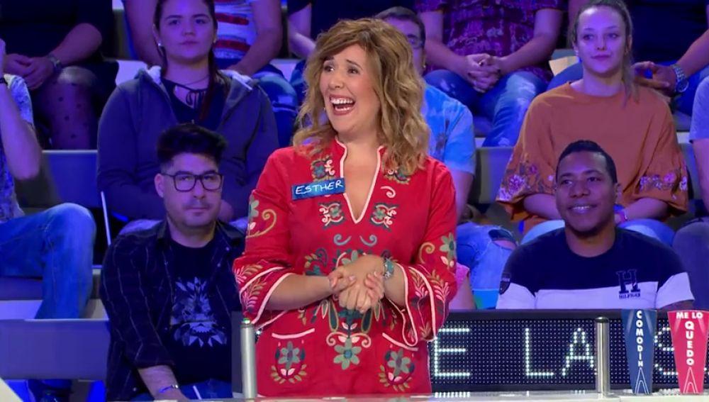 La concursante más 'familiar' de 'La ruleta de la suerte'