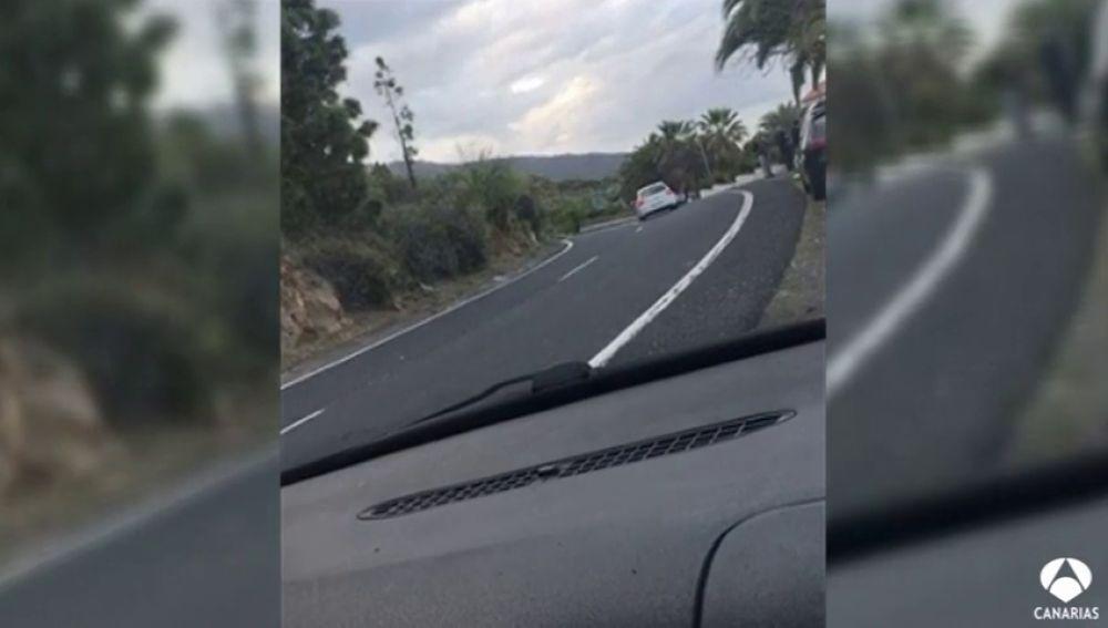 Localizan a un conductor temerario por un vídeo subido a redes