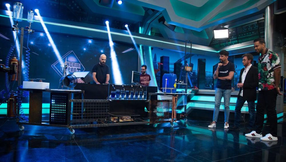 El tecnológico homenaje a la canción 'Propuesta indecente' de Romeo Santos en 'El Hormiguero 3.0'