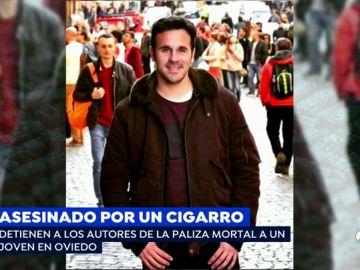 Asesinado por un cigarrillo.