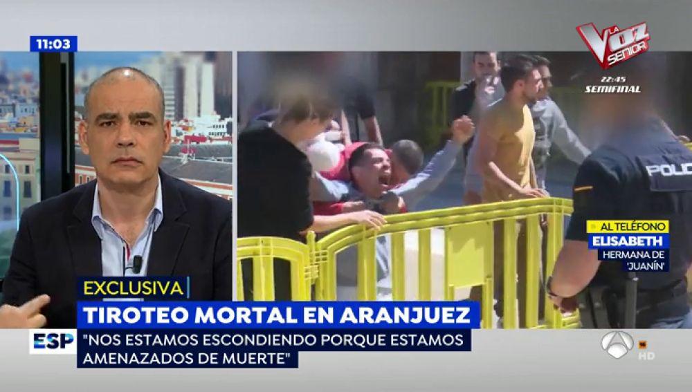 Tiroteo mortal en Aranjuez.