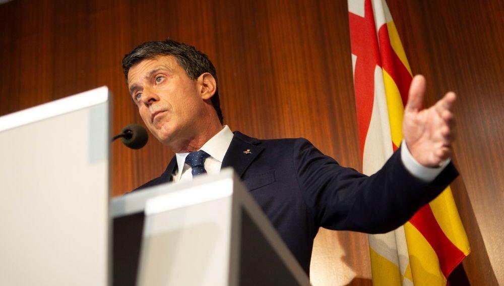 """Valls carga contra Cs por """"irresponsable"""" y por los pactos indirectos con Vox"""
