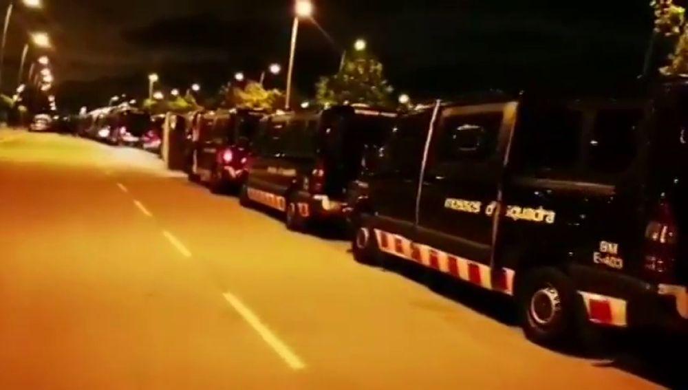 Operación conjunta de los Mossos, Policía Nacional y Guardia Civil contra el tráfico de drogas en Barcelona